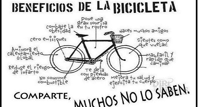 beneficios de la bici