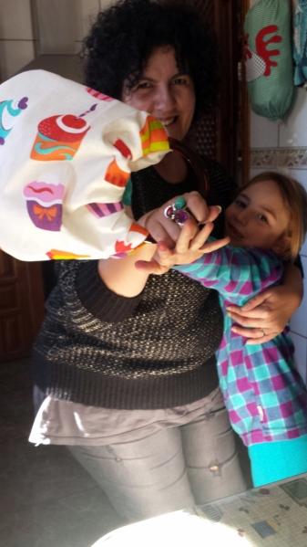 con Ainhoa