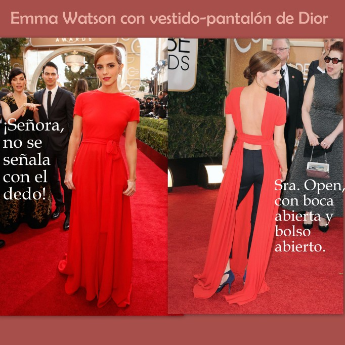 Emma Watson con Dior