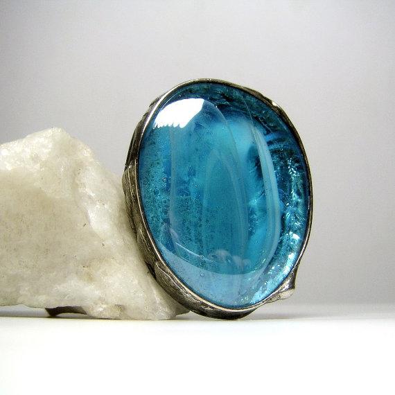 anillo dazzling blue
