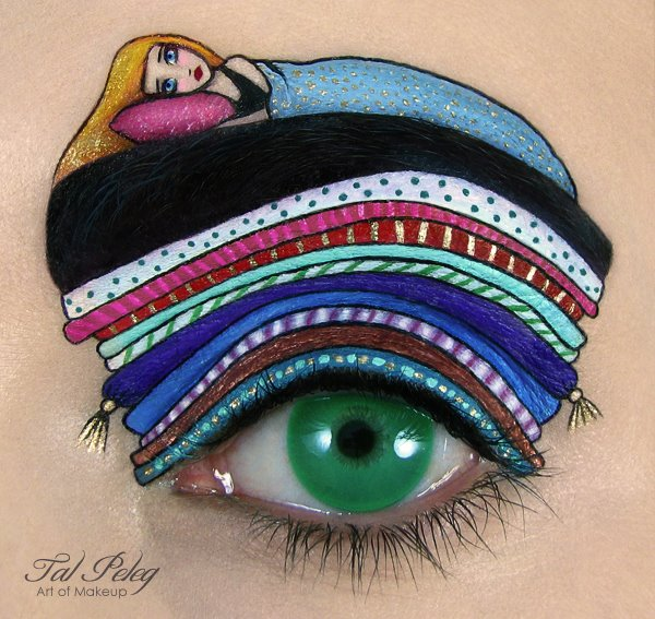 eye art princesa