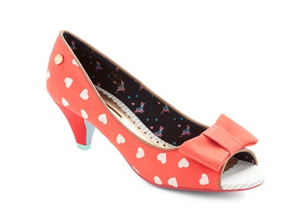 Modcloth zapatos coazones