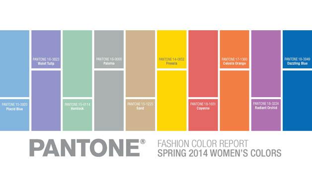 pantone spring 2014