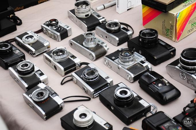 Flea Market BCN cámaras fotos