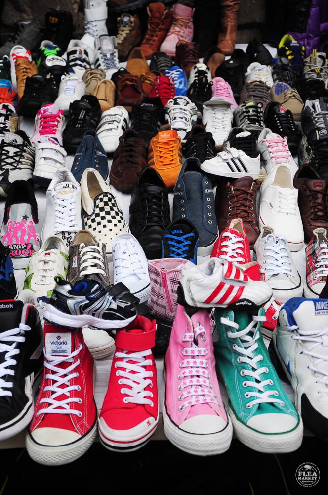 Flea Market BCN calzado