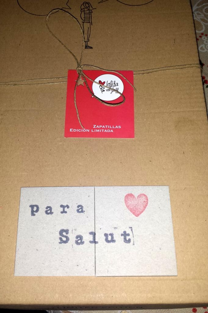 caja personalizada Lolita von Stoff