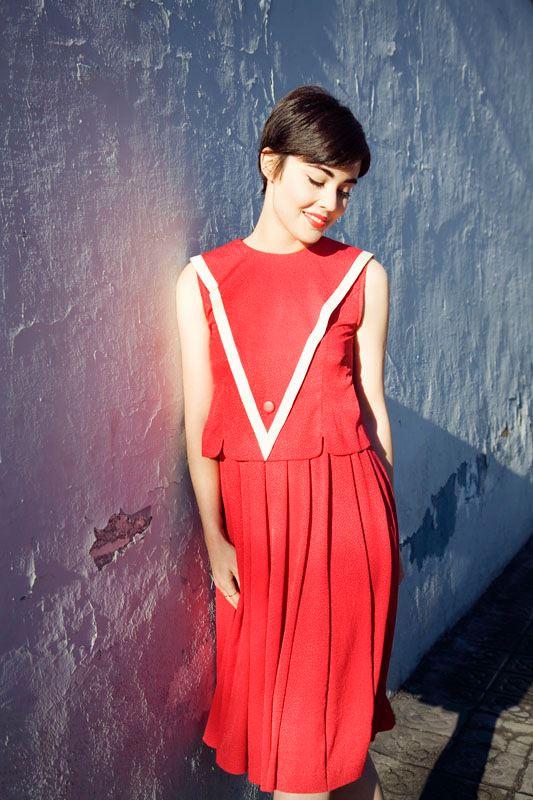 Susi Sweet Dress vestido rojo