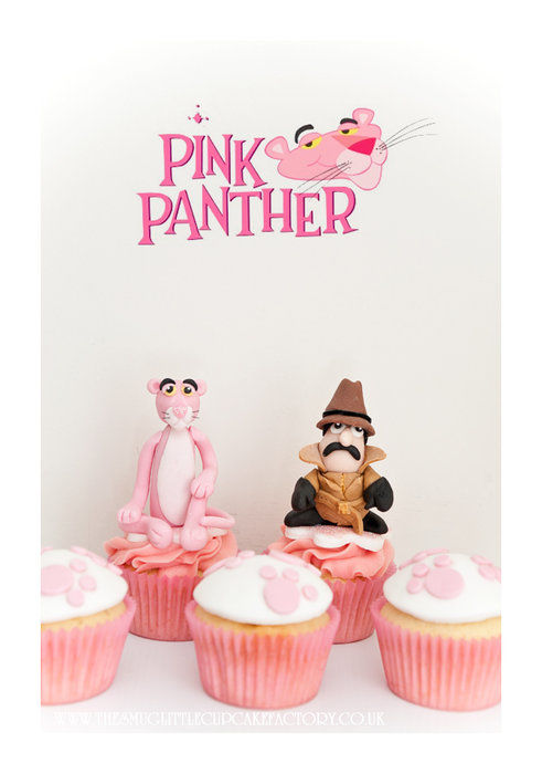 cakes the pink panther