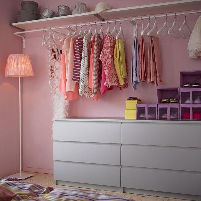 IKEA vestidor