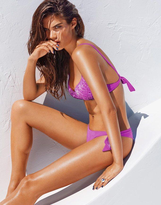 calzedonia bikini lila