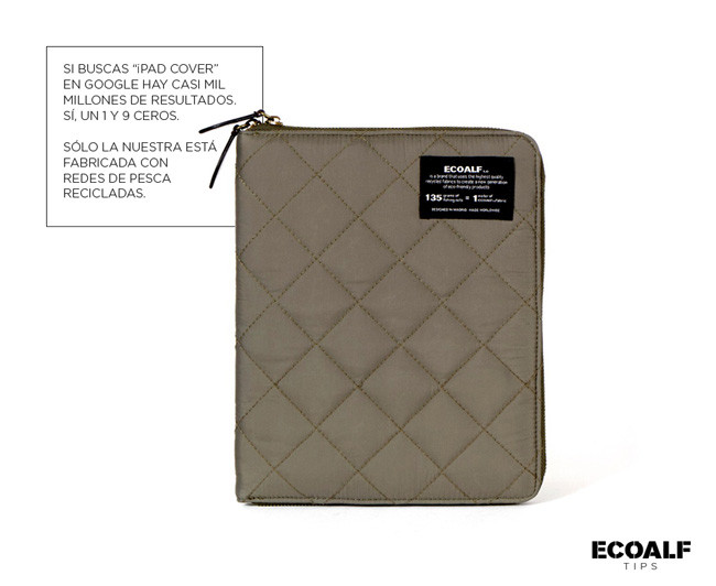 Ecoalf funda Ipad