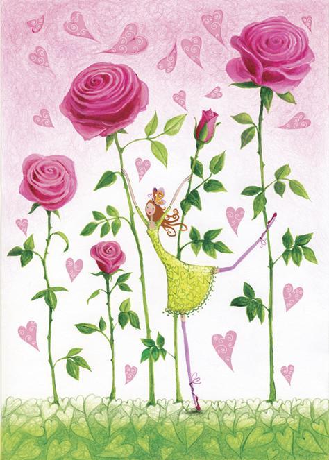 Entre rosas
