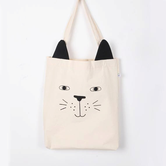 tote bag cat de HelloTinge