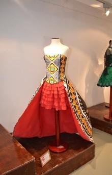 vestido papel Mollerusa