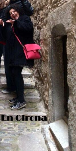 bolso rosa en Girona