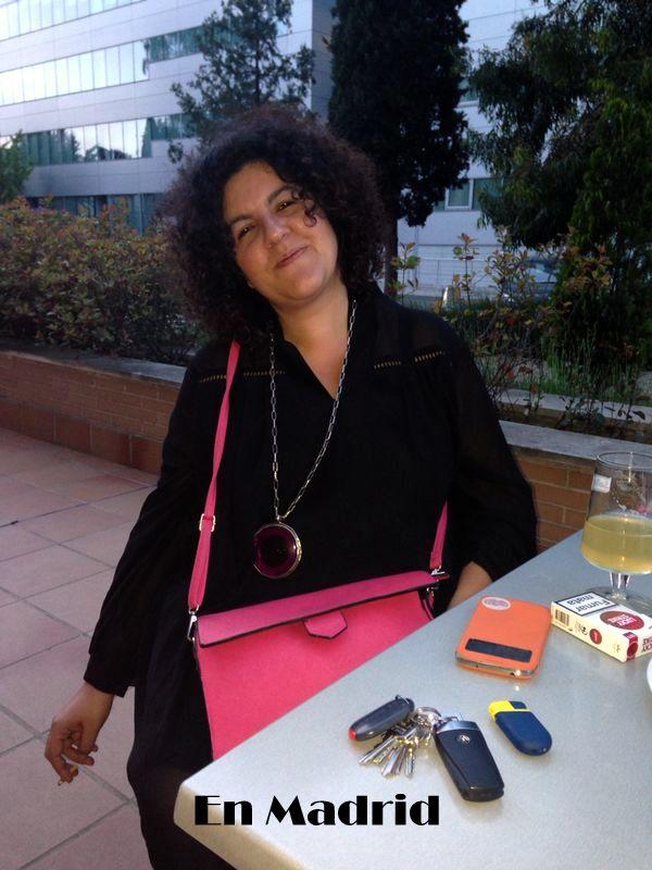bolso rosa en Madrid