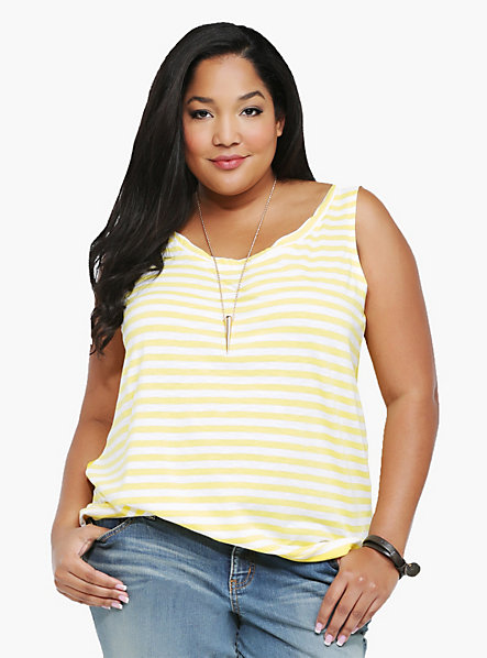 camiseta gasa amarilla