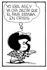 mafalda crisis