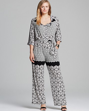 mono estampado plus size