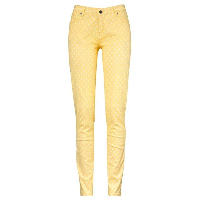 pantalón amarillo La Redoute