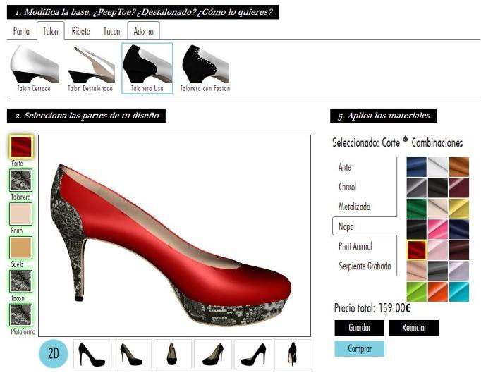 diseña zapatos