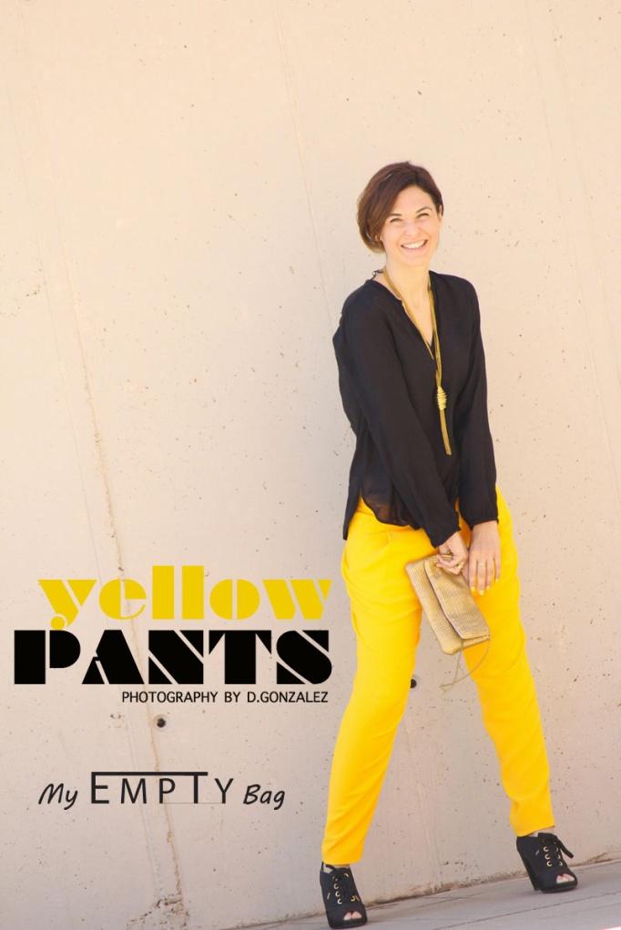 yellow pants myemptybag
