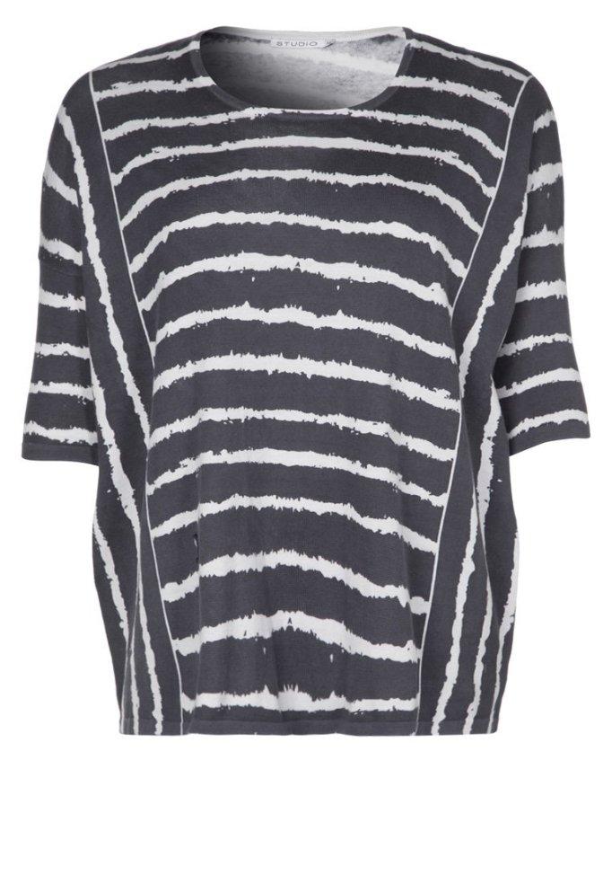 camiseta talla grande rayas zalando