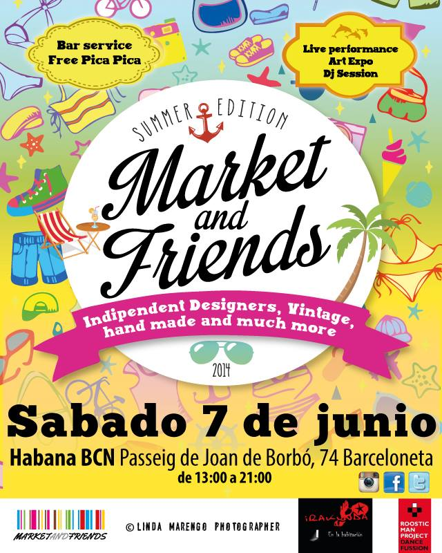 market and friends