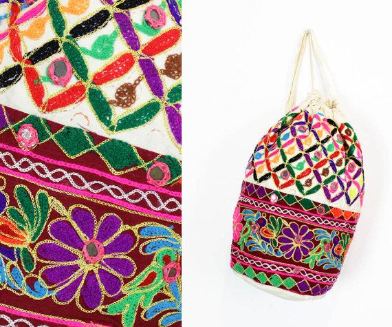 mochila saco india