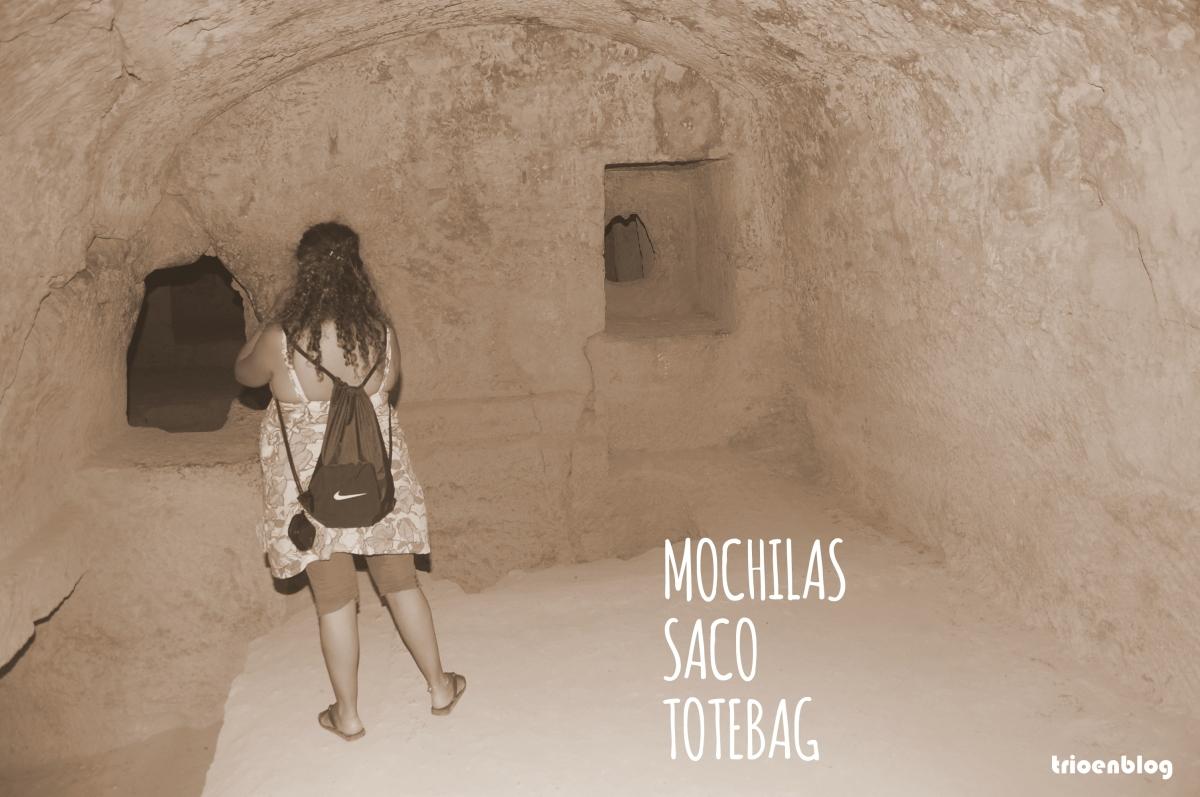Mi tipo con... #mochila saco de tela
