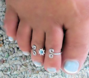 anillos pies