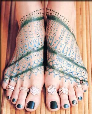 anillos dedos pies