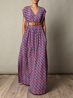 como hacer un maxi vestido
