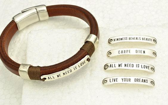 pulseras con frases
