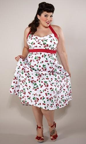 vestido de cerezas