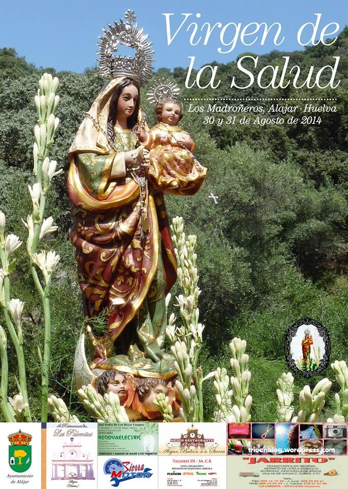 Virgen de la Salud Los Madroñeros Alajar Huelva