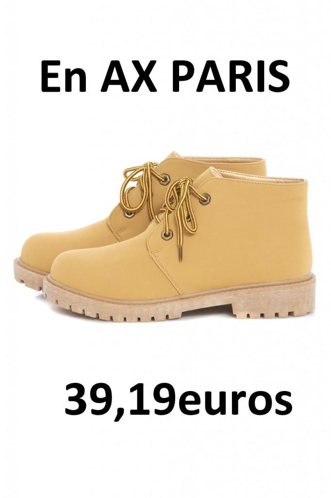 AX PARIS botas montaña