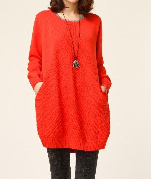 jersey largo rojo