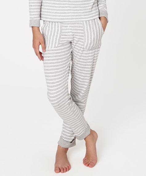 pantalón pijama rayas