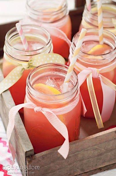 tarro de cristal bebidas