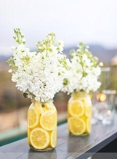 tarro cristal florero