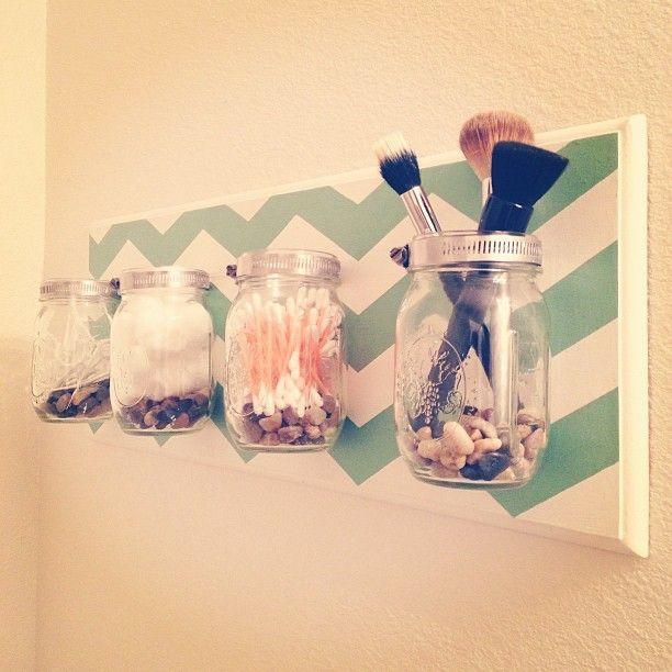 tarros cristal para el baño