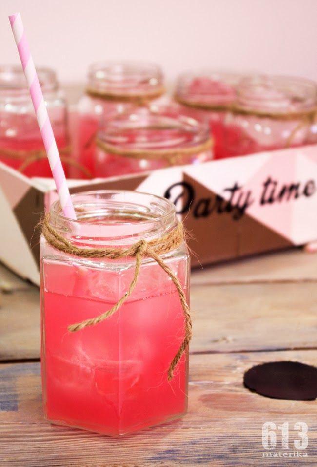 tarro cristal para bebidas