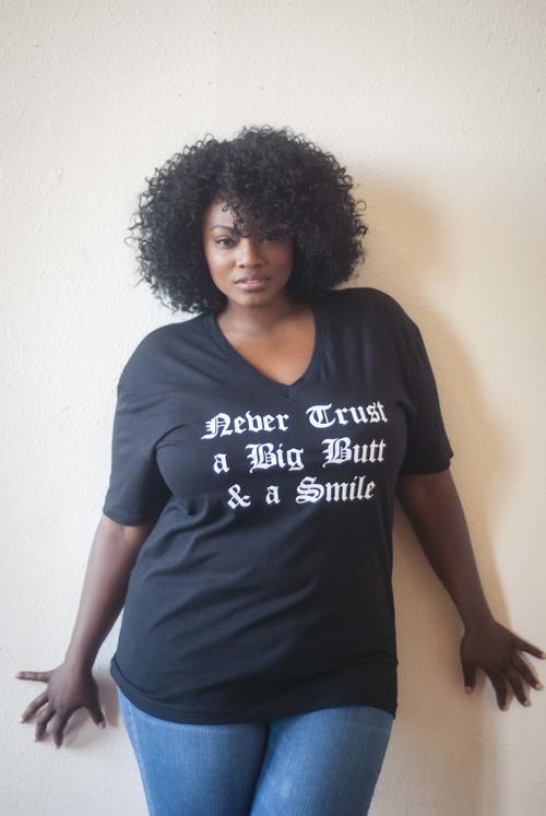 camiseta talla grande black