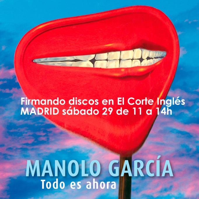 Manolo García nuevo disco