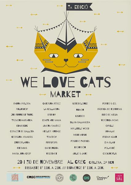 Market We love cats