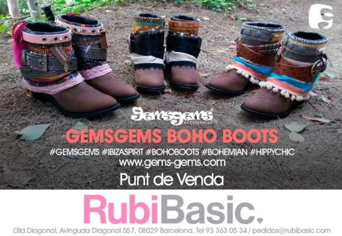 boho boots GemsGems