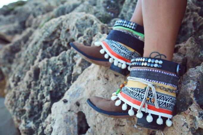 botas étnicas