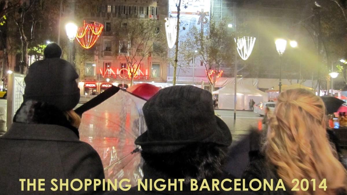 Noche de shopping por Barcelona