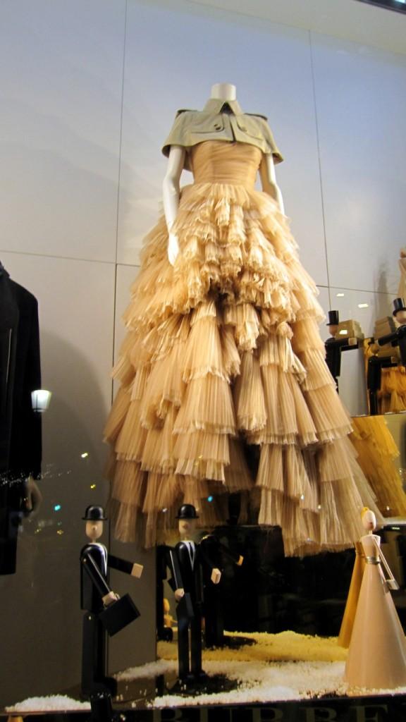 vestido Burberry